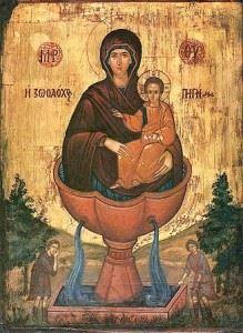 Икона Божией Матери Живоносный источник (2)