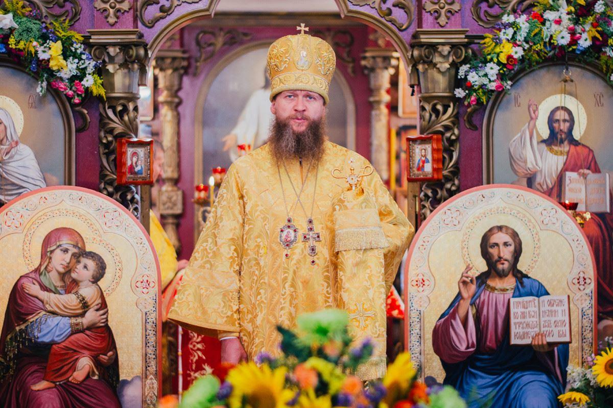 Визит Преосвященнейшего Пентелеимона, Епископа Ровеньковского и Свердловского  02 августа 2015 года.