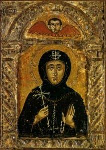 Святая Матрона Константинопольская