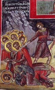 Мученики, иже в Крите