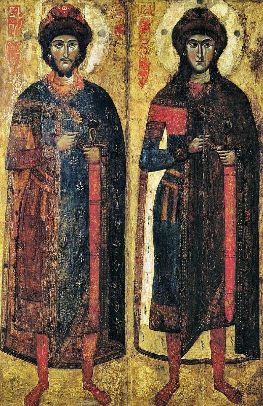 Святіе Борис и Глеб